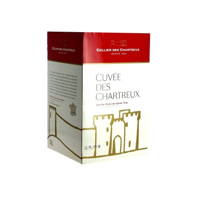 Cellier de Chartreux Rouge en bag-in-box de 10 l
