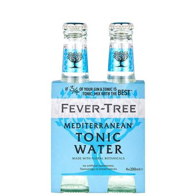 Fever - Tree Mediterranean Tonic Water   (20 CL*4)