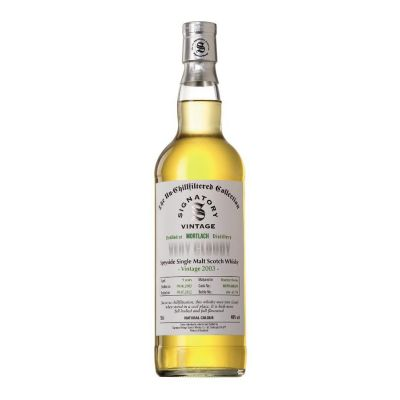 Mortlach 2008 Very Cloudy 40 % Signatory Vintage