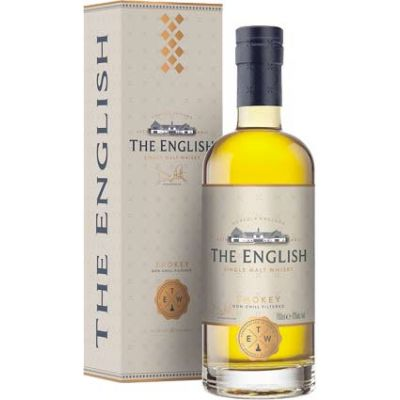 Whisky Smokey 43 %  The English Whisky Co