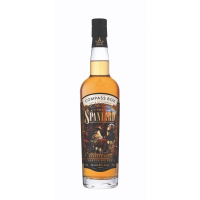 THE STORY OF THE SPANIARD  COMPASS BOX 43%